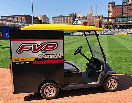 FVP Golf Cart at St. Paul Saints
