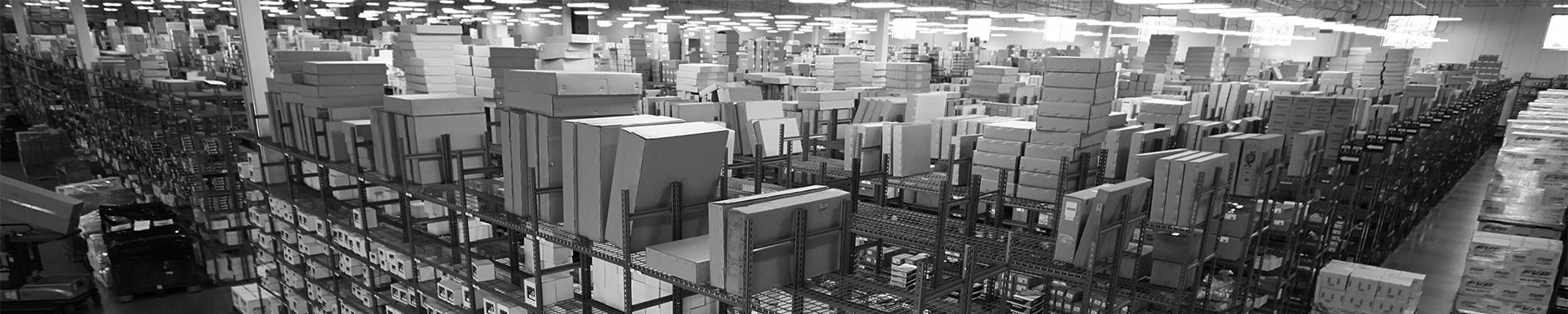 Warehouse shelving ProductsBanner